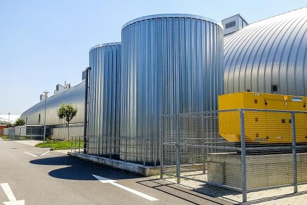 Zateplení sprinklerových nádrží